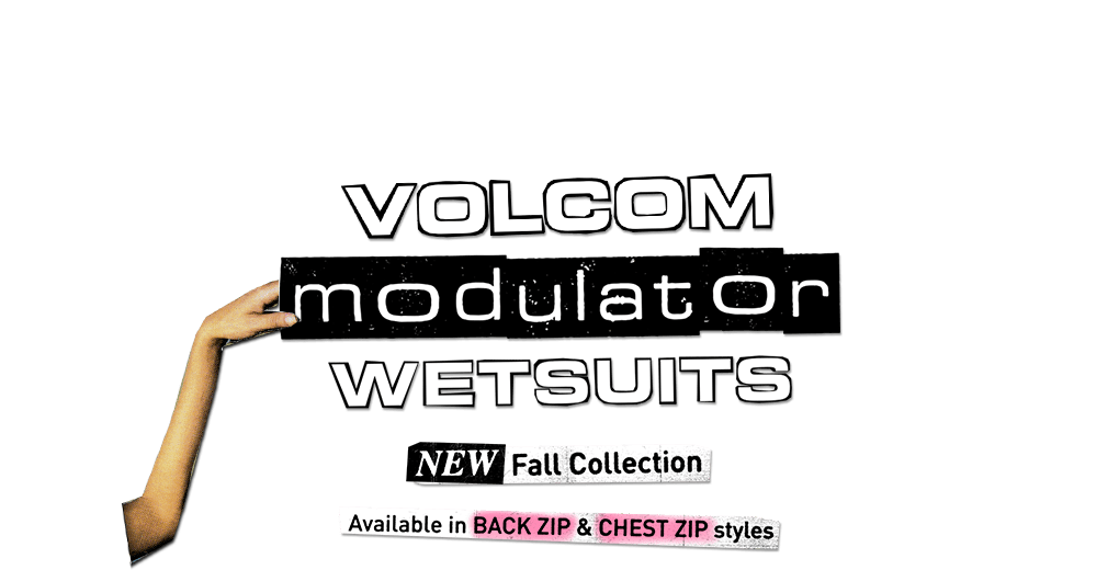 volcom modulator wetsuits new fall collection