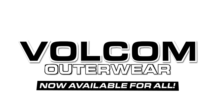 volcom outerwear now available for all