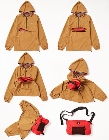 Volcom x Girl Skateboards Pack It Gore-Tex Jacket - Tobacco
