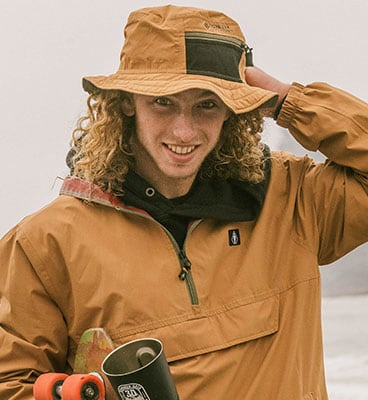 Volcom x Girl Skateboards Gore-Tex Bucket Hat - Tobacco