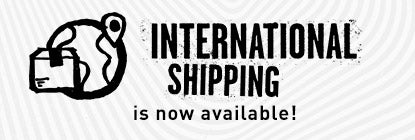 International Shipping Now Available