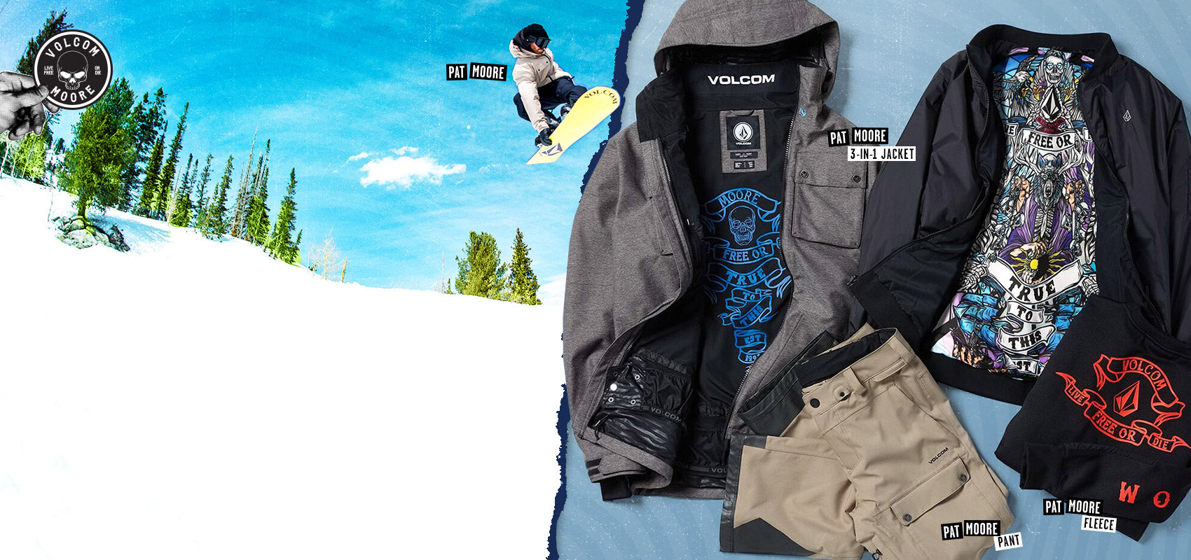 Pat Moore Volcom Outerwear