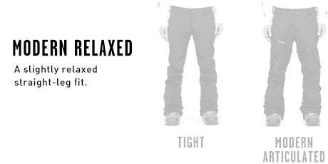 Mens Modern Relaxed Fit