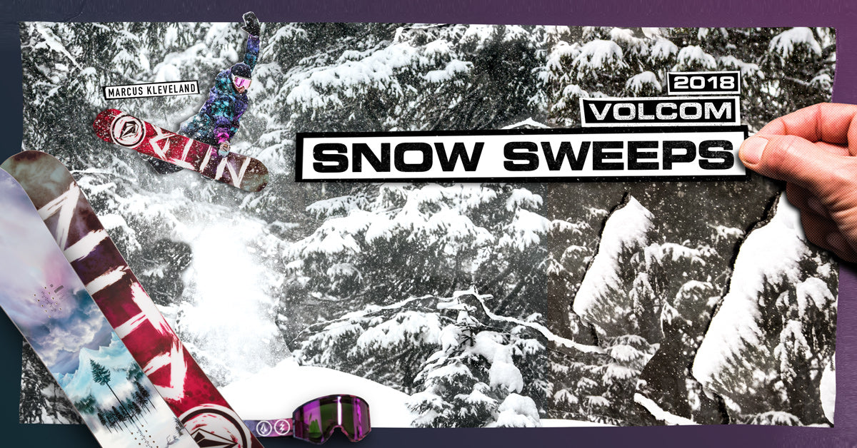 2018 Volcom Snow Sweepstakes