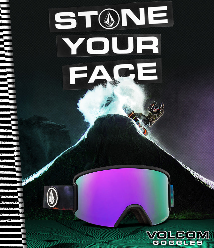 Stone Your Face Volcom Goggles