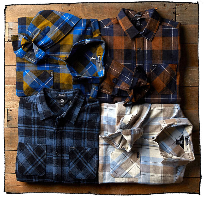 Volcom Flannels and Shirts