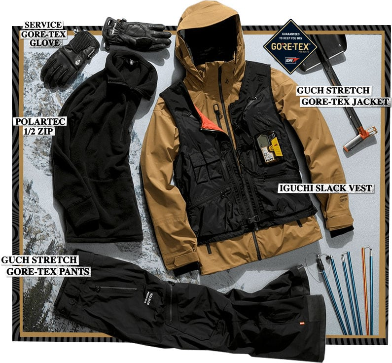 Bryan Iguchi Backcountry Outerwear Kit