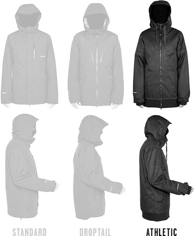 Mens Athletic Fit Jackets