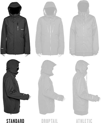 Mens Standard Fit Jackets
