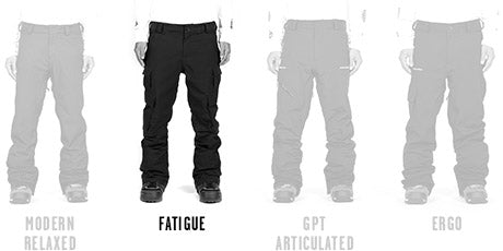 Mens Fatigue Fit
