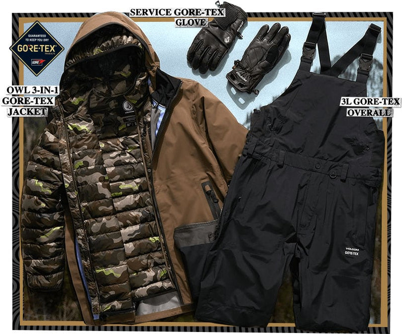 Pat Moore Backcountry Outerwear Kit