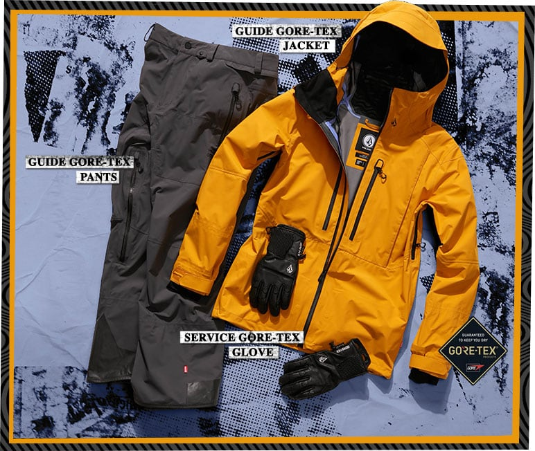 Jeff Pensiero Backcountry Outerwear Kit