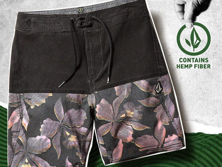Volcom Trunks contain Hemp