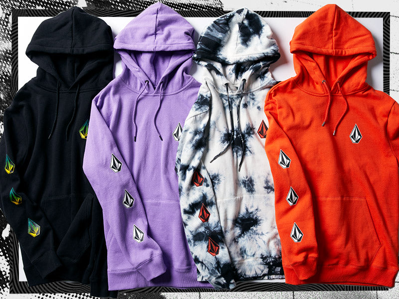 4 Volcom Deadly Stones Hoodies