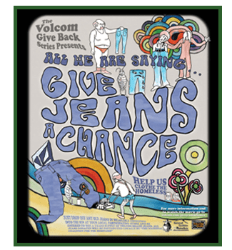 give jeans a chance poster