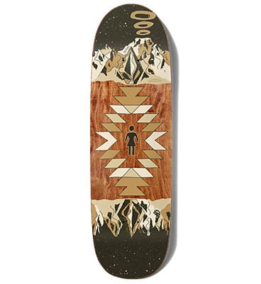 Volcom X Girl Simon Bannerot Custom Deck