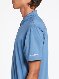 Wowzer Hazard Performance Polo - Blue Rinse
