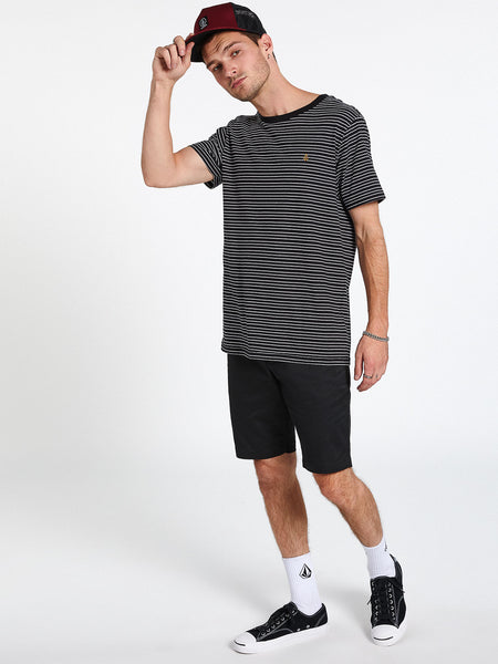 Smithers Short Sleeve Crew - Black