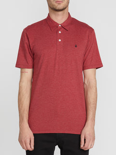 Banger Polo - Deep Red Heather