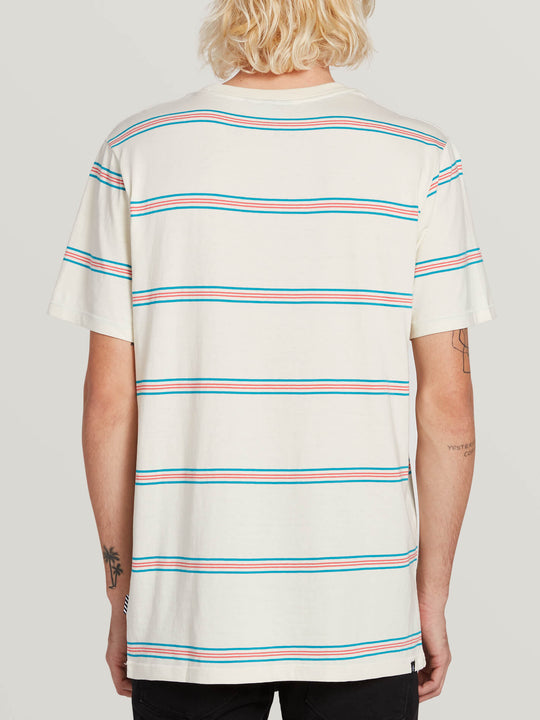 Tehas Short Sleeve Crew - White Flash (A0131901_WHF) [B]