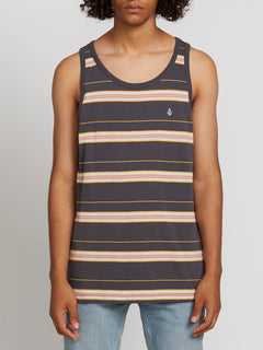 Shaneo Tank In Asphalt Black, Front View