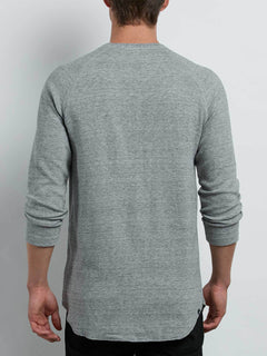 Warren 3/4 Raglan In Mist, Back View
