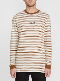 Fluxer Long Sleeve Crew - White Flash (A0341902_WHF) [F]