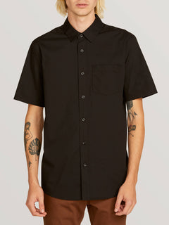 Everett Solid Short Sleeve Shirt
