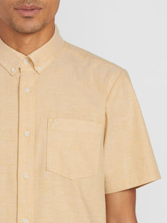 Everett Oxford Short Sleeve - Gold (A0411801_GLD) [1]