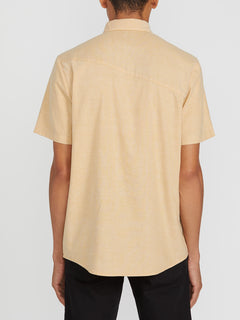 Everett Oxford Short Sleeve - Gold (A0411801_GLD) [B]