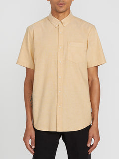 Everett Oxford Short Sleeve - Gold (A0411801_GLD) [F]
