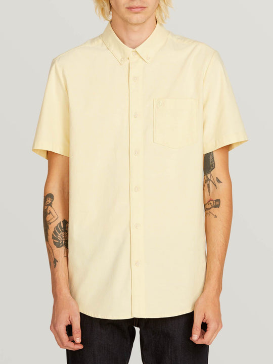 Everett Oxford Short Sleeve Shirt - Lime