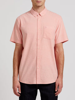 Everett Oxford Short Sleeve - Salmon (A0411801_SLM) [F]