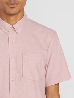 Everett Oxford Short Sleeve - Sandstone (A0411801_SSN) [1]