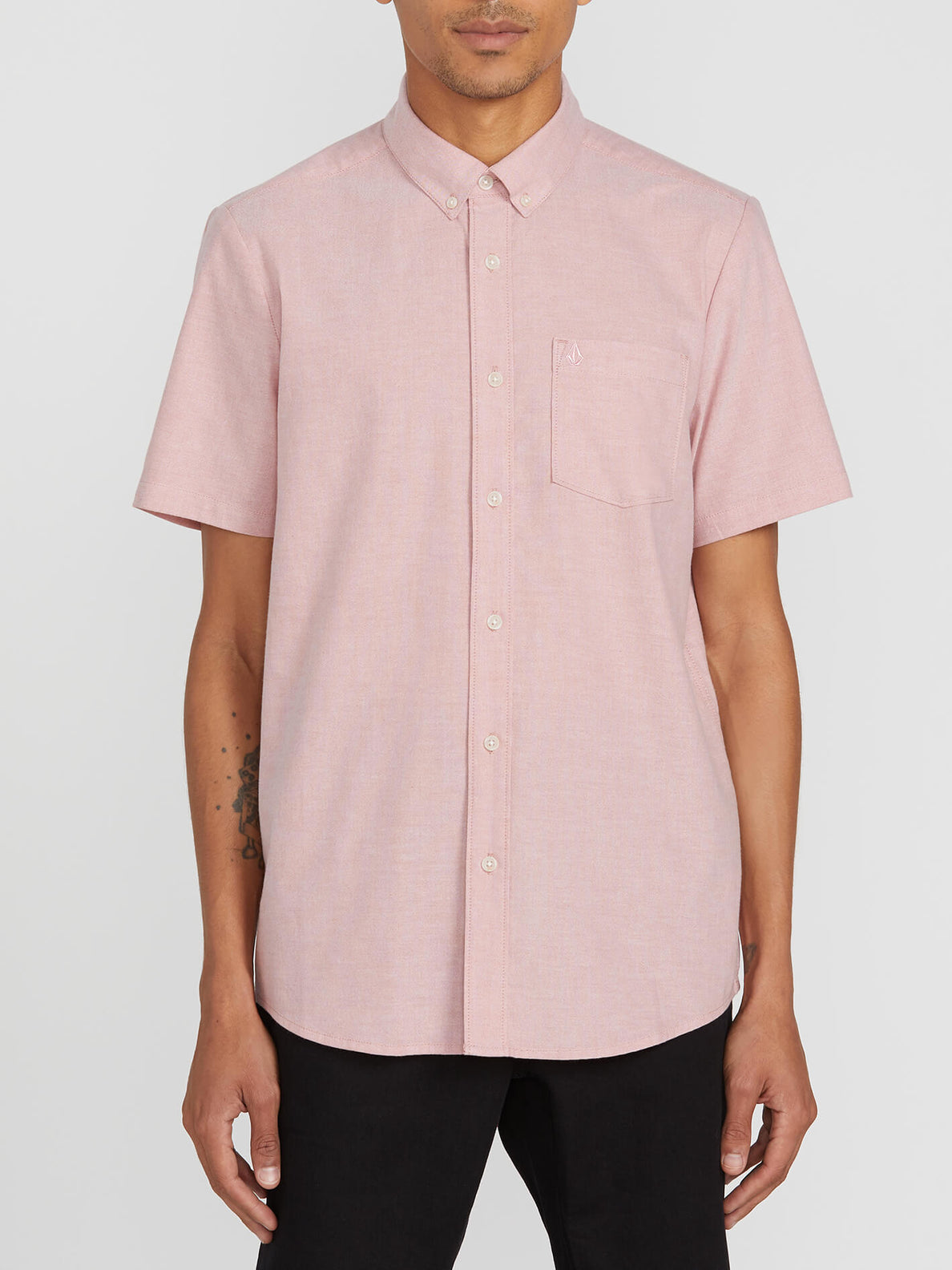 Everett Oxford Short Sleeve - Sandstone (A0411801_SSN) [F]