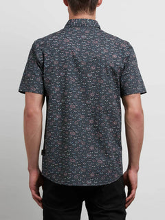 Burch Shirt In Stealth, Back View