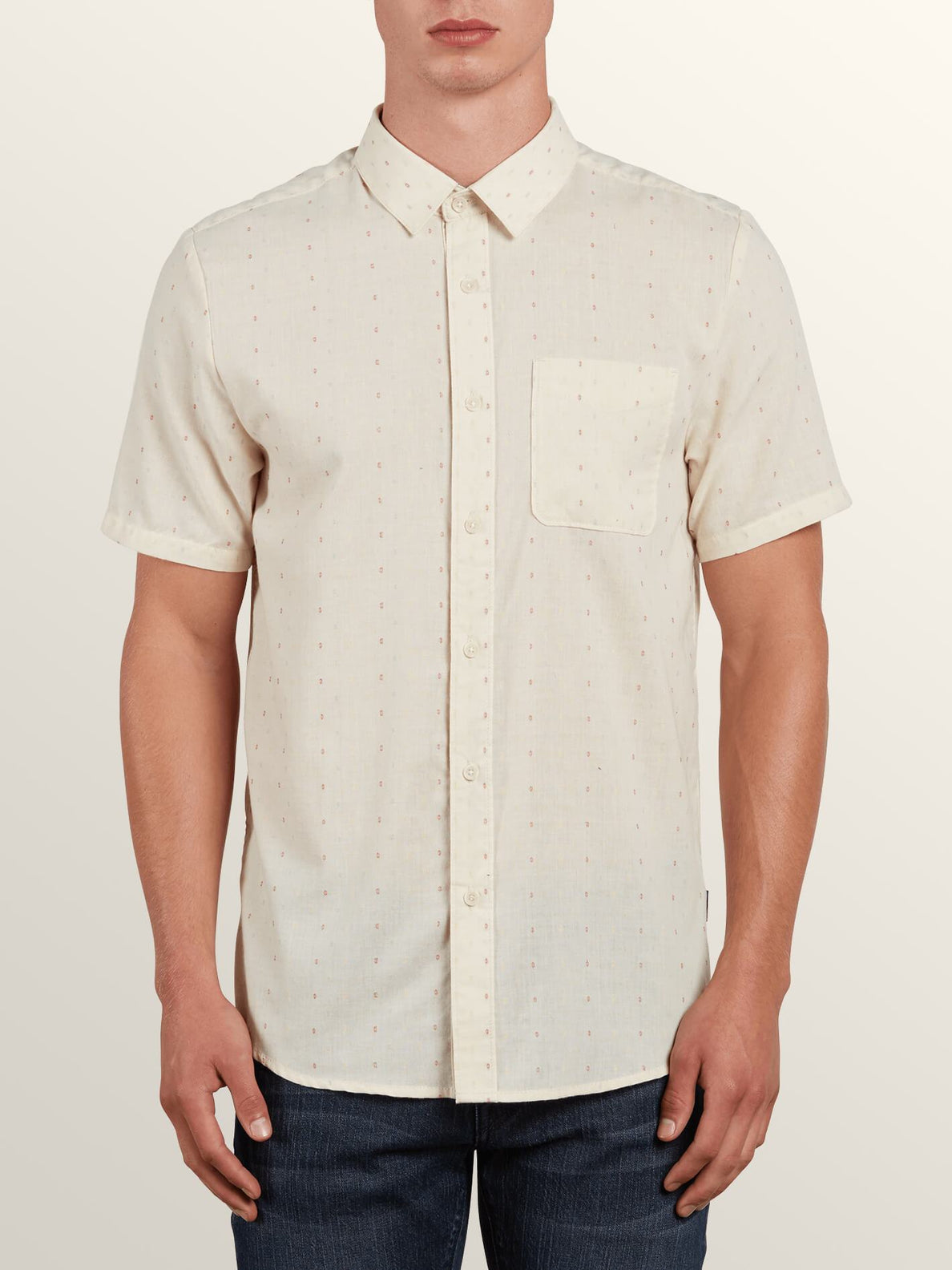 Dobler S/s In White Flash, Front View