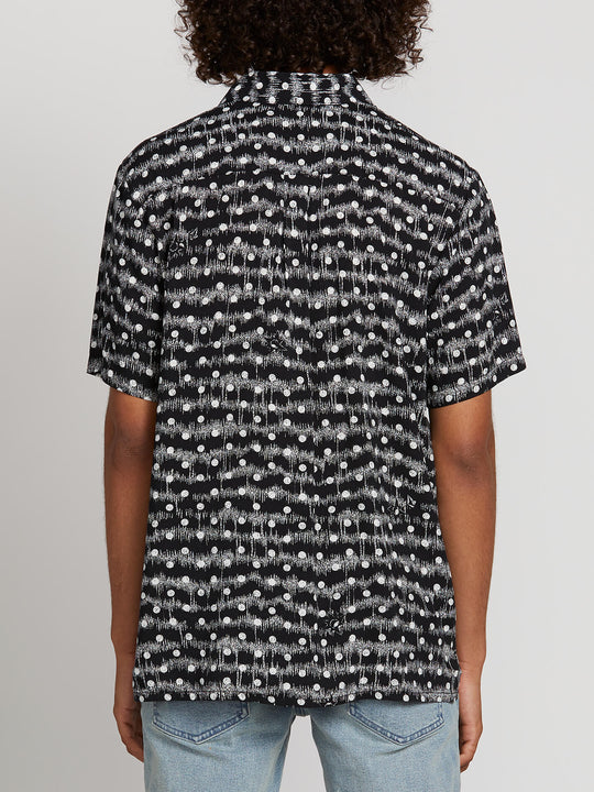 Mag Sketch Short Sleeve Shirt - Black (A0421903_BLK) [B]