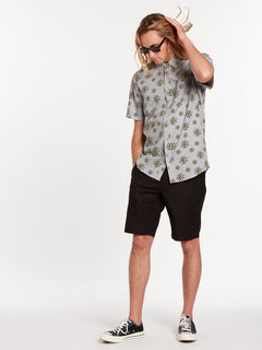 Burch Bloom Short Sleeve - Tower Grey (A0422010_TWR) [39]