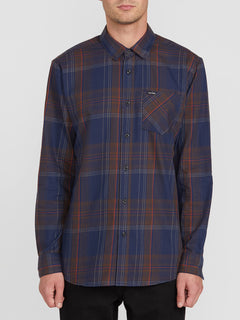 BASSMENT FLANNEL L/S (A0512001_BLB) [F]