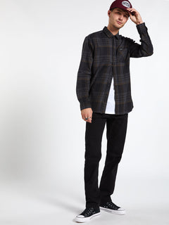 BASSMENT FLANNEL L/S (A0512001_BLK) [16]