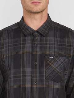 BASSMENT FLANNEL L/S (A0512001_BLK) [1]