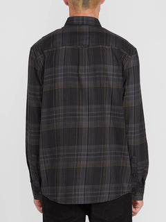 BASSMENT FLANNEL L/S (A0512001_BLK) [B]