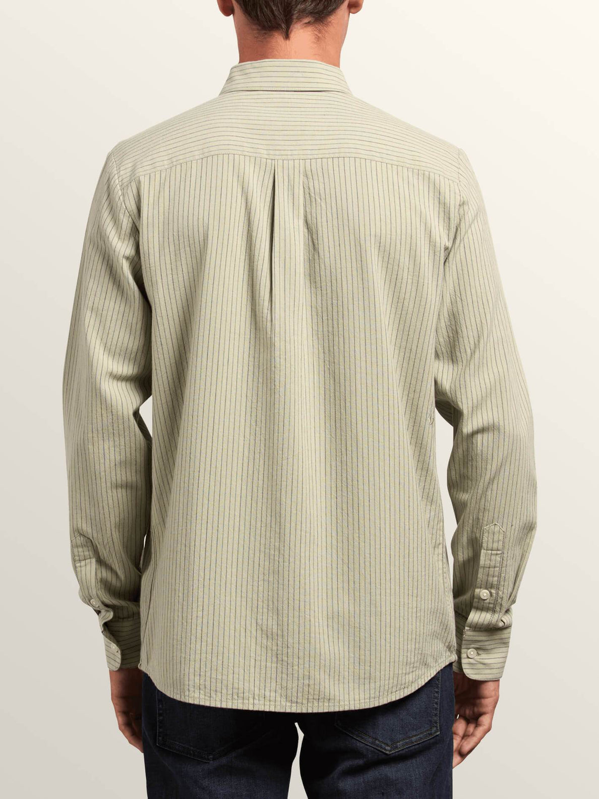Volcom Mens Toner Modern Striped Long Sleeve Shirt