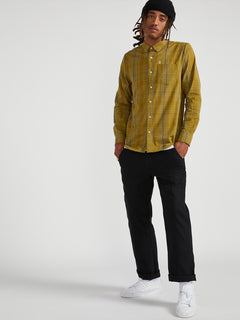 Moore Mix Long Sleeve - Sonic Green (A0541900_SNC) [04]