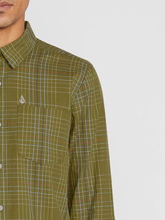 Moore Mix Long Sleeve - Sonic Green (A0541900_SNC) [1]