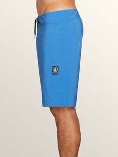Lido Solid Mod Boardshorts In Free Blue, Alternate View