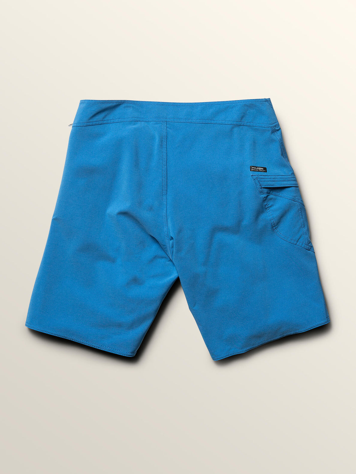Lido Solid Mod Boardshorts In Free Blue, Fourth Alternate View