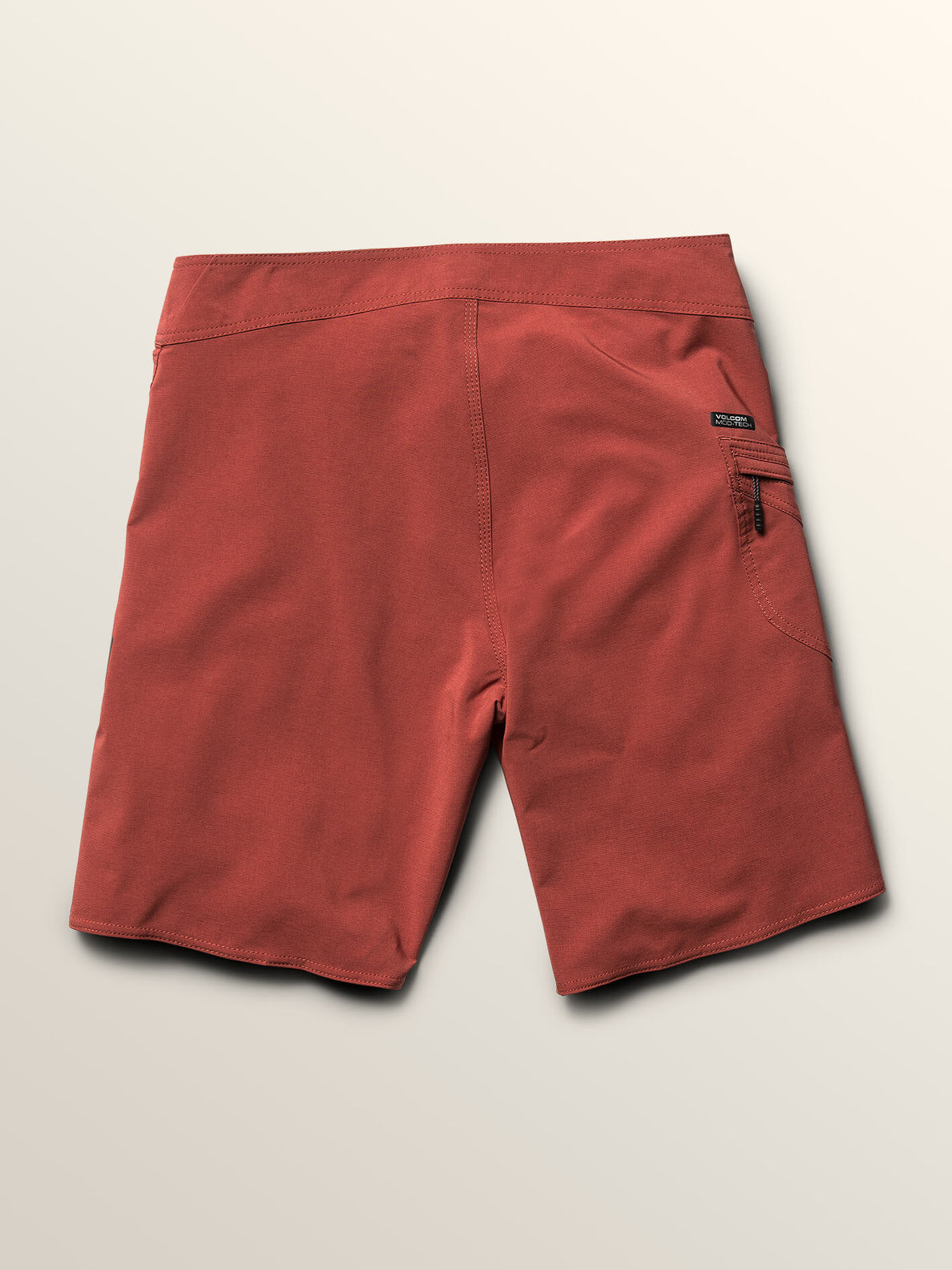Lido Solid Mod Boardshorts In Rust, Fourth Alternate View