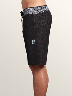 Plasm Plus Mod Boardshorts In Black, Alternate View
